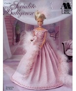Socialite Ballgown for Barbie Doll Annie's Attic Crochet PATTERN/INSTRUC... - $5.02