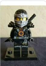 Lego NINJAGO Possession MINIFIGURE COLE Minifig 70738 Deepstone 70734 CL34 - $5.89