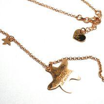 Long Necklace 70 cm, Silver 925, Pendant Medusa, Starfish, le Favole image 3
