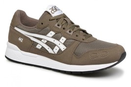 ASICS Tiger GEL-LYTE Men Shoes Athletic Sneaker 1193A026 Dark Taupe/Whit... - $59.99