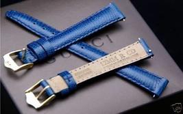 New Gucci 12 MM Blue Lizard Leather Band - (12.107) - Fits Gucci 3000 L - $24.95
