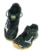 MIZUNO Wave RX3 Black  Indoor Volleyball Shoes Women's Size 9 - $29.44