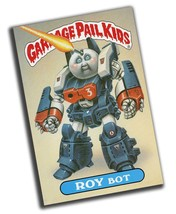 Garbage Pail Kids Roy Bot Reproduction 8x12 Inch Aluminum Sign - $19.75