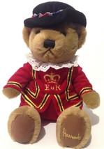 "Harrods Knightsbridge Beefeater Teddy Bear 11"" Plush London Royal Guard ... - $27.71"