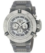 Invicta 24367  Subaqua Quartz Grey Stainless Steel & Silicone Men's Watch - $247.49