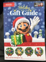 Nintendo 2016 Holiday Gift Guide Booklets Promo Wii U 3DS Activity GameS... - $5.93