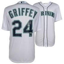 Ken Griffey Jr Seattle Mariners Signed White Majestic Jersey TRISTAR. - $940.50