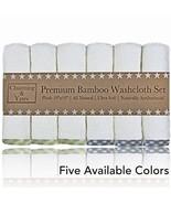 Channing & Yates - Premium Baby Washcloths - Bamboo 6-Pack Organic Baby ... - $16.08