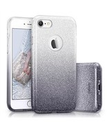 IPhone Case, Bling Glitter Sparkle Three Layer Shockproof Soft TPU Outer... - $344,47 MXN