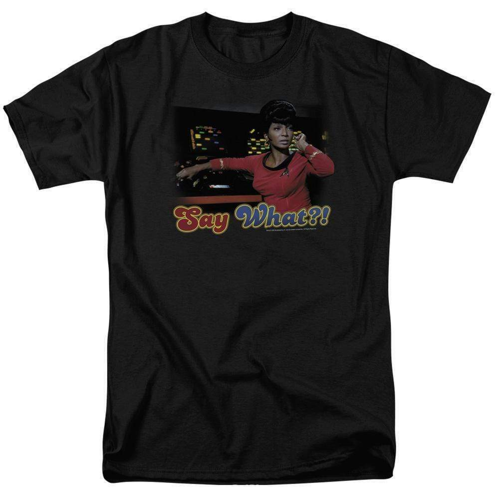 Star Trek Uhura T-shirt original cast member retro Sci-Fi graphic tee CBS208