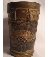 Antique Rare Souvenir metal drinking vessel Victoria BC  - $148.50