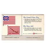 Grand Union FLAG Navy Jack Flag Don't Tread On Me Advertising Blotter Pr... - $14.99