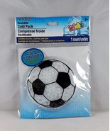 Assured Reusable Cold Pack For Ouchies and BooBoos - New - Soccer Ball - $4.74