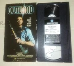 OUTLAND VHS ORIGINAL RELEASE SEAN CONNERY  - $8.88