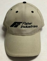 Fisher Industries Hat Construction Equipment Building Cap Business North... - $34.64