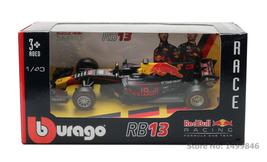Bburago 1:43 Car Toy Diecast Red Bull Team RB13 Racing Car Model F1 Form... - $23.00