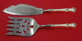 Memory Lane by Lunt Sterling Silver Fish Serving Set 2 Piece Custom Made HHWS - $127.40