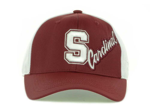 online retailer fb405 60099 Stanford Cardinal Top of the World Trapped One Fit Stretch Fit Cap Hat
