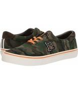 Polo Ralph Lauren Men's Thorton Suede Sneakers Shoes, Green 9 D - $75.60