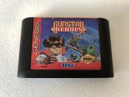 Gunstar Heroes - Sega Genesis - Cleaned & Tested - $52.38