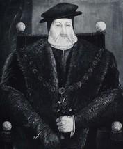 1902 ANTIQUE PRINT (HENRY VIII) CHARLES BRANDON DUKE OF SUFFOLK ABOUT 1544 - $77.56
