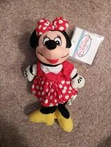 Minnie Mouse Beanie NWT Disney Plush Bean Bag The Disney Store Hang Tag - $8.00