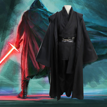 Star Wars Costume Jedi Halloween Season Black Cloak - $64.35 CAD