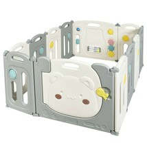 12 Panel Baby Playpen Kids Activity Play Yard - new (cy) - $159.99
