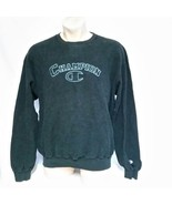 VTG Champion Crew Neck Sweatshirt Spell Out 90s Inside USA Sport Jumper ... - $45.99