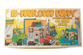 10 Four Good Buddy CB Radio Board Game 1976 Vintage Parker Brothers Pre-... - $24.75