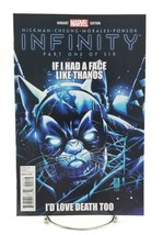 Infinity #1 Part One Deadpool Cat Thanos Variant October 2013 Marvel Com... - $14.49