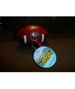 2x Two NEW Football Gameday Plastic Rain Poncho Plastic keychain purse clip - $11.07