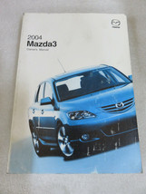 2004 Mazda 3 Owner's Manual OEM Factory Dealership Workshop - $2.96