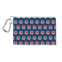 Thor Logo Avengers Superhero Inspired Canvas Zip Pouch - $15.99+