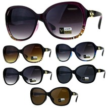 Womens Designer Diva Oversize Jewel Bling Hinge Butterfly Sunglasses - $12.95