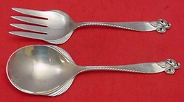 Orchid Elegance by Wallace Sterling Silver Salad Serving Set All-Sterling - $332.60