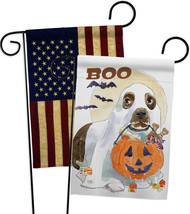 Halloween Boo Doggie - Impressions Decorative USA Vintage - Applique Gar... - $30.97