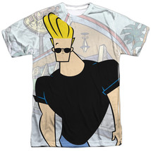 Authentic Johnny Bravo TV Show Cartoon Network Sublimation Front T-shirt... - $25.99+