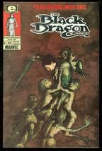 BLACK DRAGON #2 1985-MARVEL COMICS-LIMITED SERIES VF - $18.62