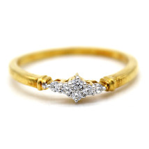 Fine Stackable Round Simulated Diamond Ring 925 Sterling Silver Size 6 7... - $16.83