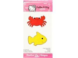 Sizzix Hello Kitty Crab & Fish Die #656010 image 1