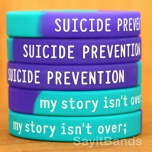 Suicide Prevention Awareness Wristbands - my story isn't over ; Bracelet... - $5.82+