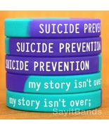 Suicide Prevention Awareness Wristbands - my story isn't over ; Bracelet... - £4.24 GBP+