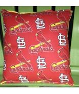 Cardinals Pillow (Red) St Louis Cardinals Pillow MLB Handmade in USA - $9.99