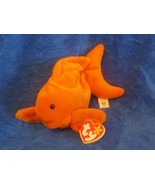 Ty Beanie Baby Goldie the Goldfish 4th Generation PVC Filled 1994 - $13.36