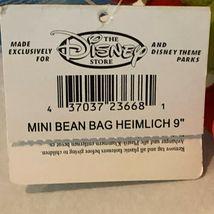 "Disney Store A Bugs Life Heimlich Caterpillar Beanie Plush Stuffed Animal 8"" image 9"