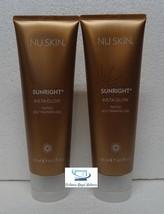 Two pack: Nu Skin Nuskin Sunright Insta Glow Tinted Self-Tanning Gel 125ml x2 - $54.00