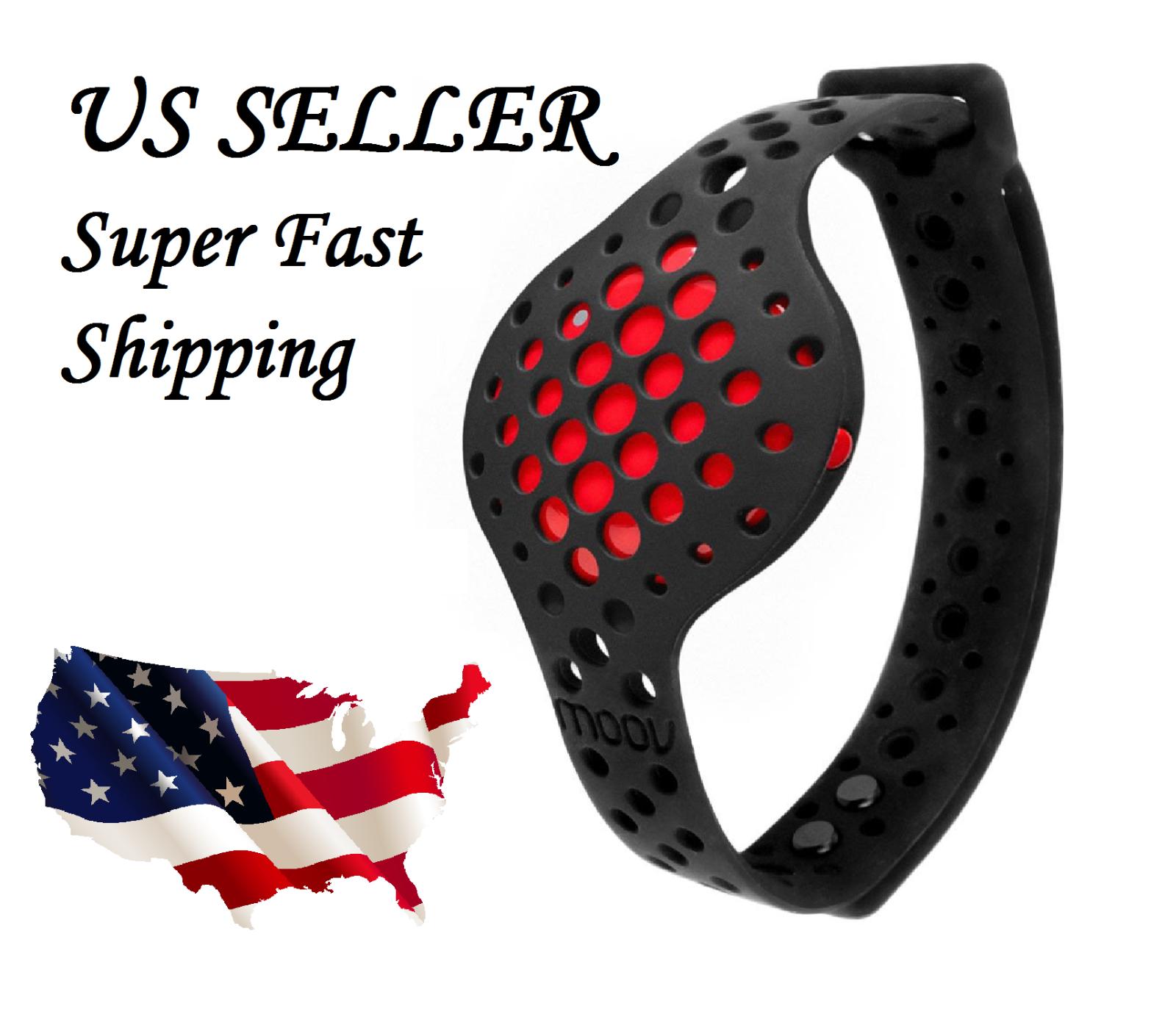 NEW MOOV NOW Strap Fitness Tracker 3d coach audio activity run swim box sport US - $19.79 - $69.29