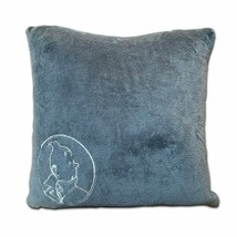 Tintin grey tintin soft cushion New Large Official Tintin product