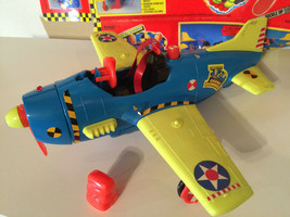 Tyco Crash Test Dummies Crash Plane no box - $9.99